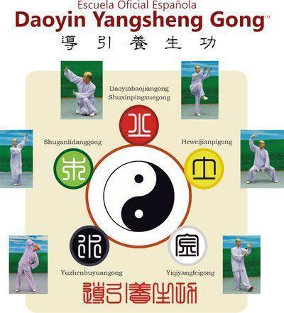 Daoyin Bioenergético: los Cinco Movimientos de la Medicina China en Qigong Daoyin Yangsheng Gong.