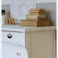the book page dresser.