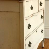 the buttermilk cream dresser.