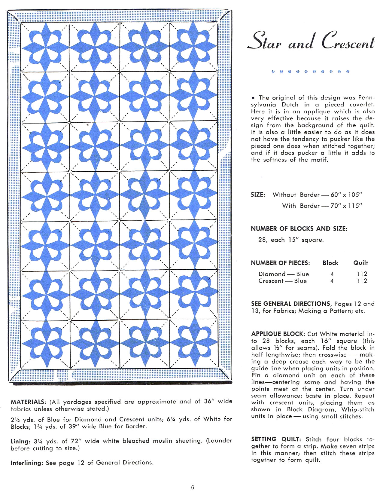 Star Quilts Vintage Quilt Booklet Q Is For Quilter