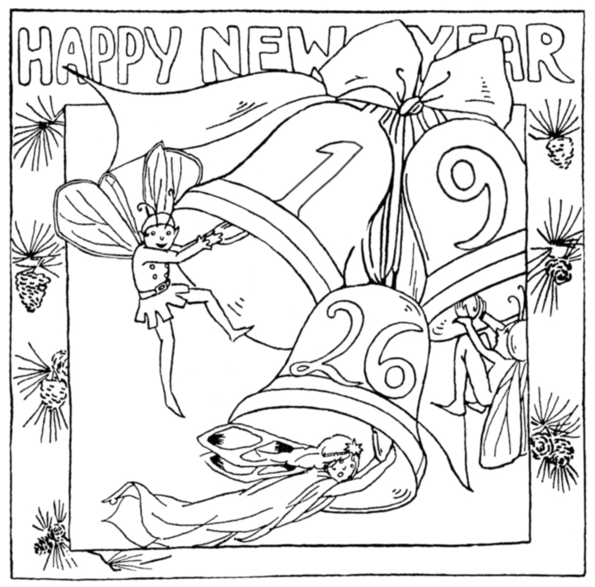 Happy New Year Q Is For Quilter
