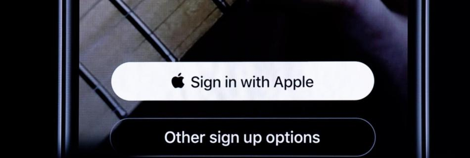 The new Apple Sign in Button