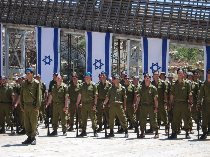 Memorial Day Rehearsals Near the Wailing Wall