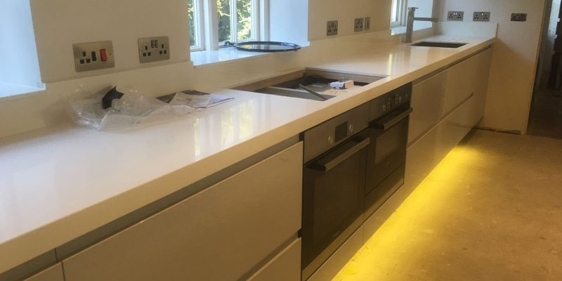 resedential electrical installation kitchen