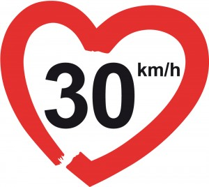 Iniciativa 30kmh bicicletas seguras