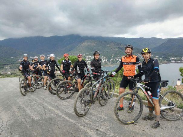 QKs de llum a Port de la Selva Cap de Creus BTT bicicleta