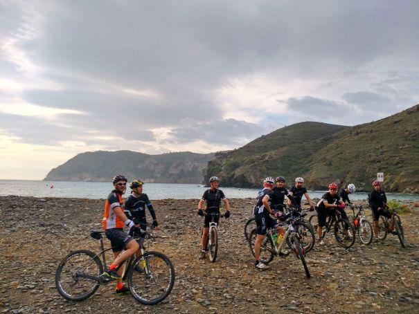 QKs de llum BTT Bicicleta ruta cala Joncols Cap de Creus Roses
