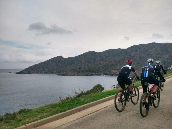 Port de la Selva Cap de Creus BTT bicicleta