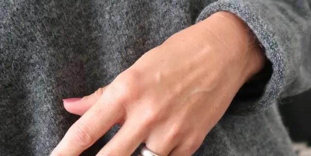 Smukke rosa negle til efteråret