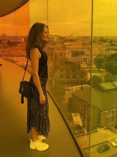 Regnbuen på ARoS Kunstmuseum er en fortryllende oplevelse