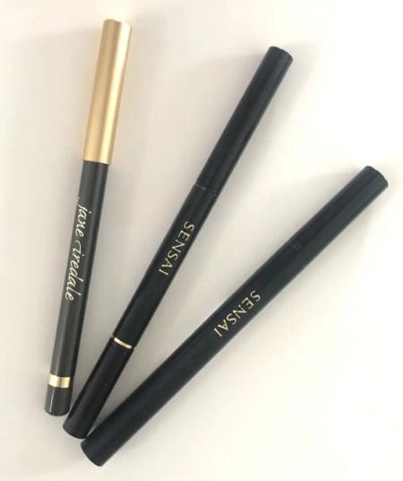 Gode brune eyelinere, som blyant og flydende