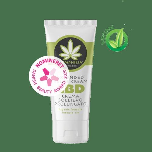 Extended Relief Cream er en lindrende creme med et ekstra højt indhold af CBD.
