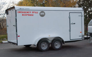Oil Spill Response Trailer | Quinault Fire Protection Program