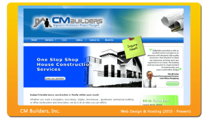 cmbuilders-website-design
