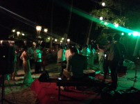 Such a fun and festive after-party they had! We arranged for the band to be flown in from Manila! :)
