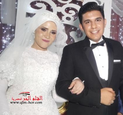 بالصور: زفاف (محمد رجب حيدر) و (أية عاطف) كر وفر واختطاف رهائن