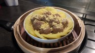 Steamed beaf with rice flour
