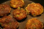 Indian potato cakes