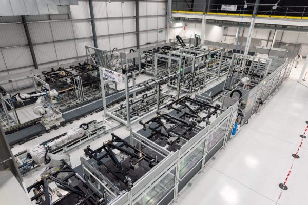 White robotic composite assembly systems