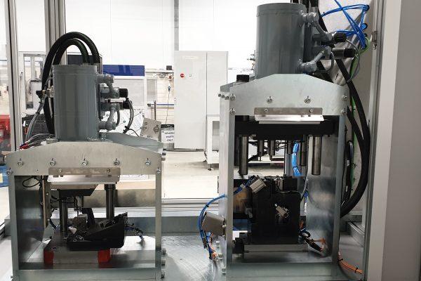 QM Systems bespoke hydraulic presses