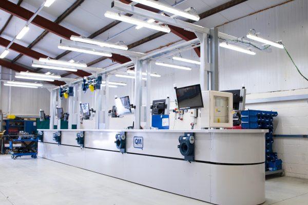 Q-MAC assembly line