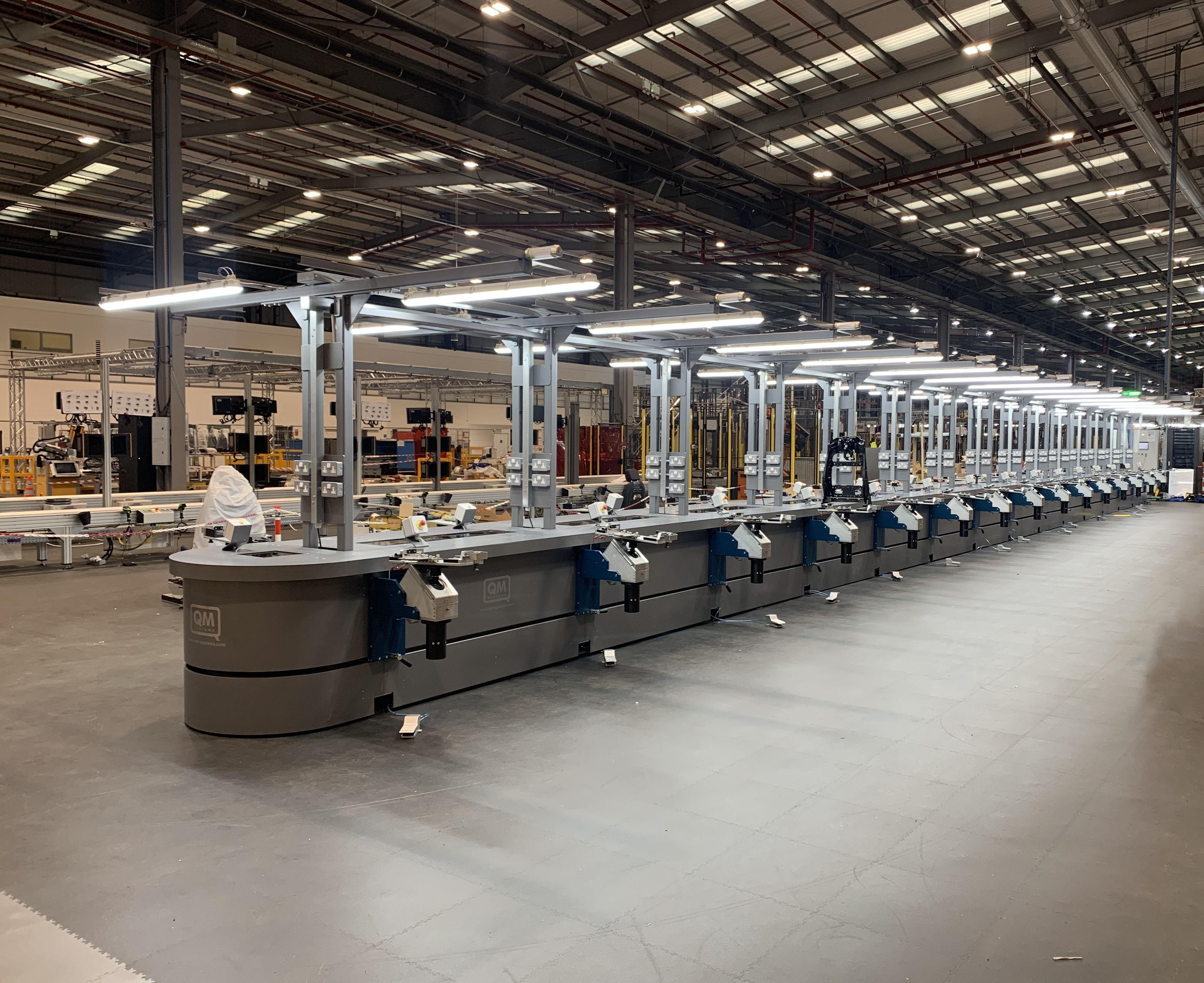 30 Station Q-MAC 3 Production Line