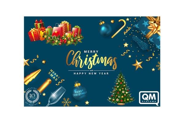 QM System merry christmas