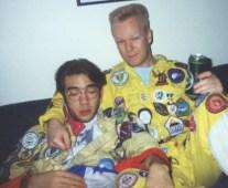 Matte och Peter är trötta