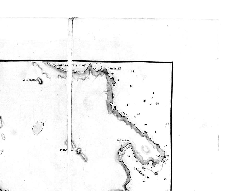 1849 Indian Fort at Cadboro Bay