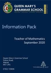 QMGS Teacher of Maths Application Pack Jan 2020_Page_1
