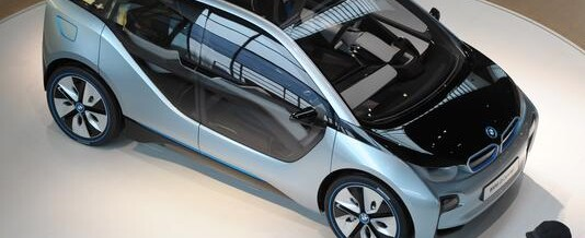 BMW now features futuristic technology in their run-of-the mill cars