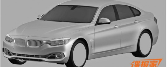 Check out newly-released renderings of what the BMW 4-series Gran Coupe might look like