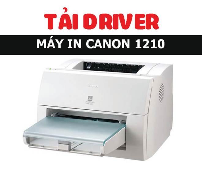 TẢI DRIVER CANON 1210