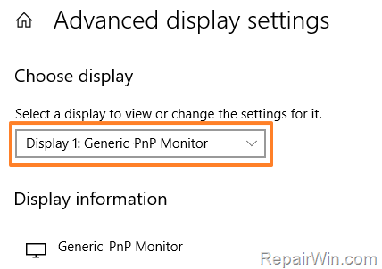 FIX: Generic PNP Monitor on Windows 10 (Solved) 9