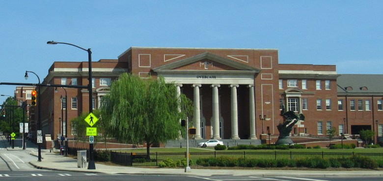 A student says she was harassed and detained by Central Piedmont Community College security officers in the central campus' Overcash building. Photo Credit: Ken Lund, via Flickr. Licensed CC.