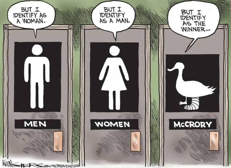 Kevin Siers McCrory political cartoon