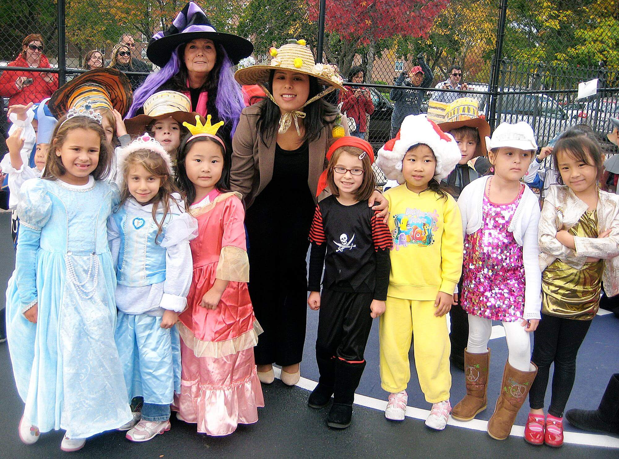 Elementary School Students Go Mad At Halloween Parade