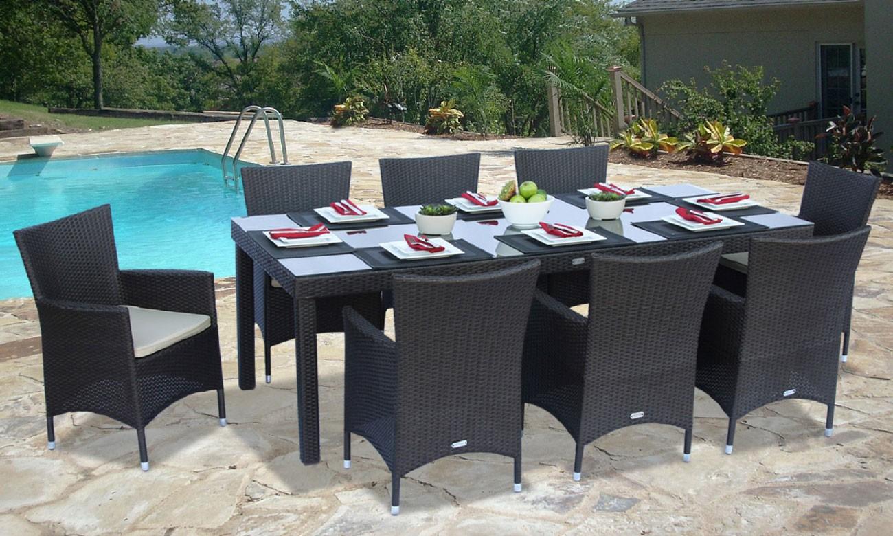 resin wicker patio furniture 2317