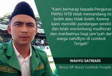 Photo of Ketua GP. Ansor Loteng : Kami Faham AD/ ART NU