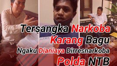 Photo of Tersangka Narkoba Karang Bagu Mengaku dianiaya Dirresnarkoba Polda NTB
