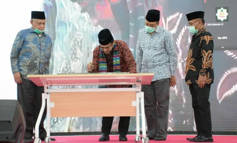 Photo of UIN Mataram Diminta Jadi Terdepan Bangun  Kerukunan Umat Beragama di NTB.