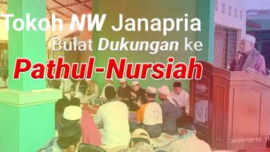 Photo of Tuan Guru NW Se Janapria Bulat Dukung Pathul Nursiah