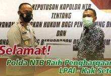 Photo of Miliki SOP Penanganan Anak, Kapolda NTB Dianugerahi Penghargaan LPAI