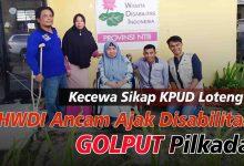 Photo of HWDI Ancam Ajak Ribuan Disabilitas Loteng Golput 9 Desember