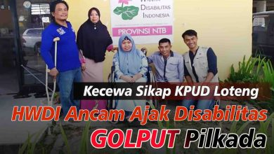 Photo of HWDI Ancam Ajak Ribuan Disabilitas Loteng Golput 9 Desember
