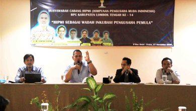 Photo of Aklamasi, Lalu Fatahillah Nahkoda Baru HIPMI Loteng 2020-2023