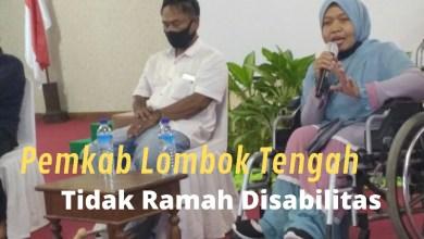 Ketua Himpunan Wanita Disabilitas Indonesia (HWDI) Provinsi Nusa Tenggara Barat, Sri Sukarni