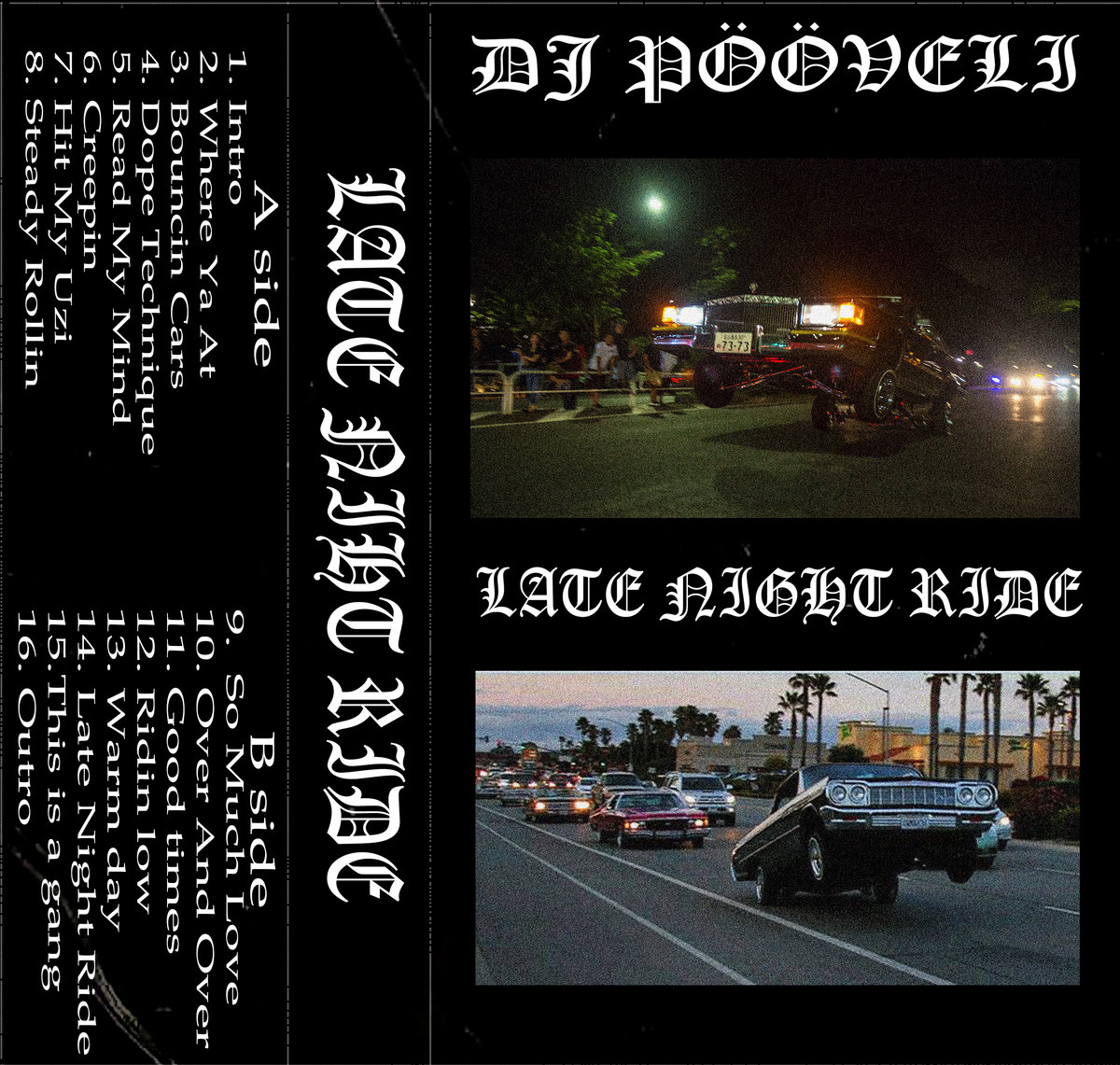 dj pooveli late night ride