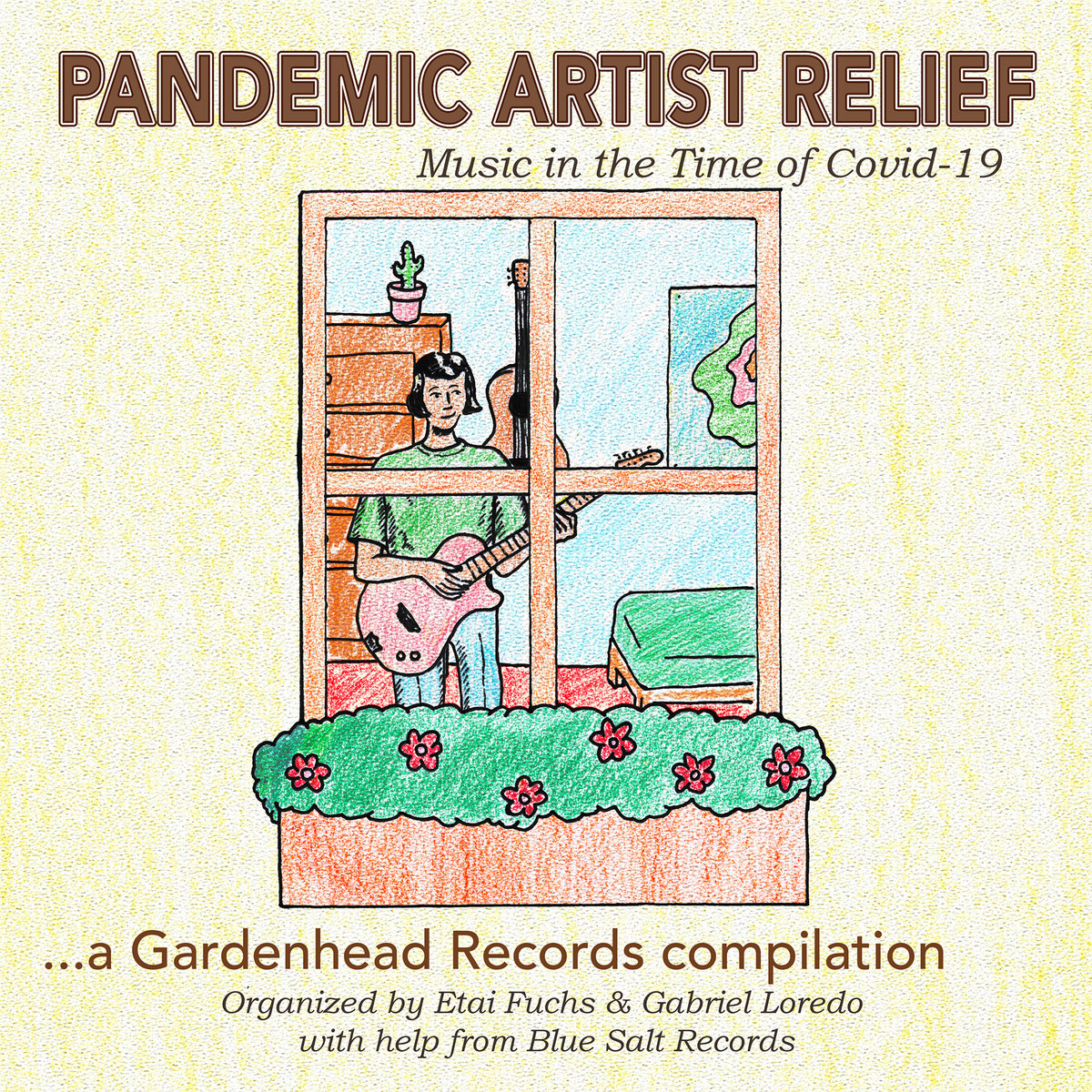 pandemic artist relief coronavirus