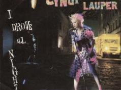 Cyndi Lauper I Drove All Night